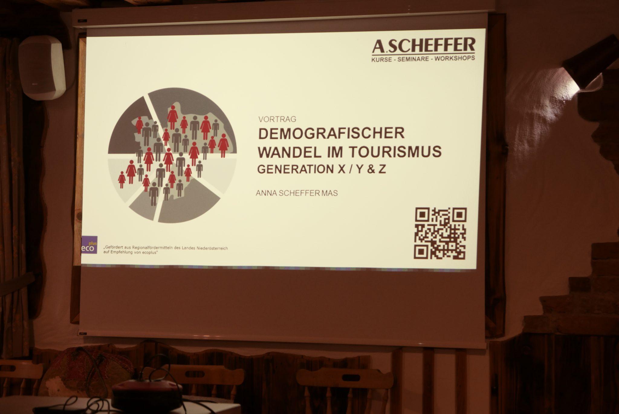 Demografischer Wandel im Tourismus – Generation X, Y & Z