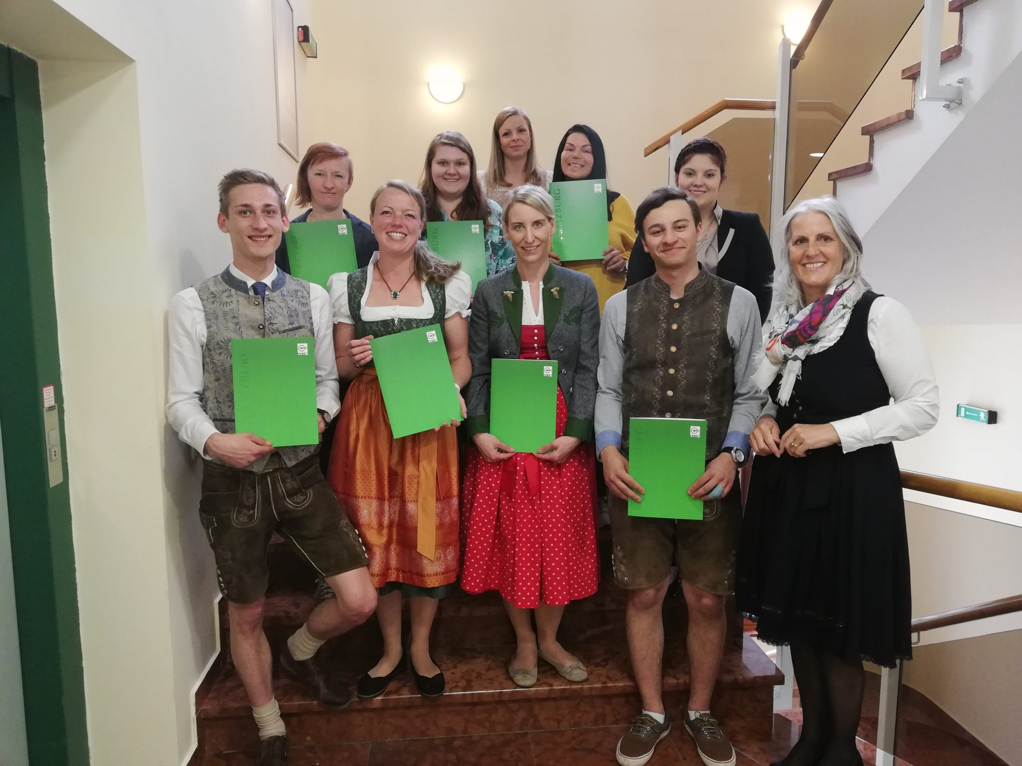 TeilnehmerInnen Rezeptionskurs