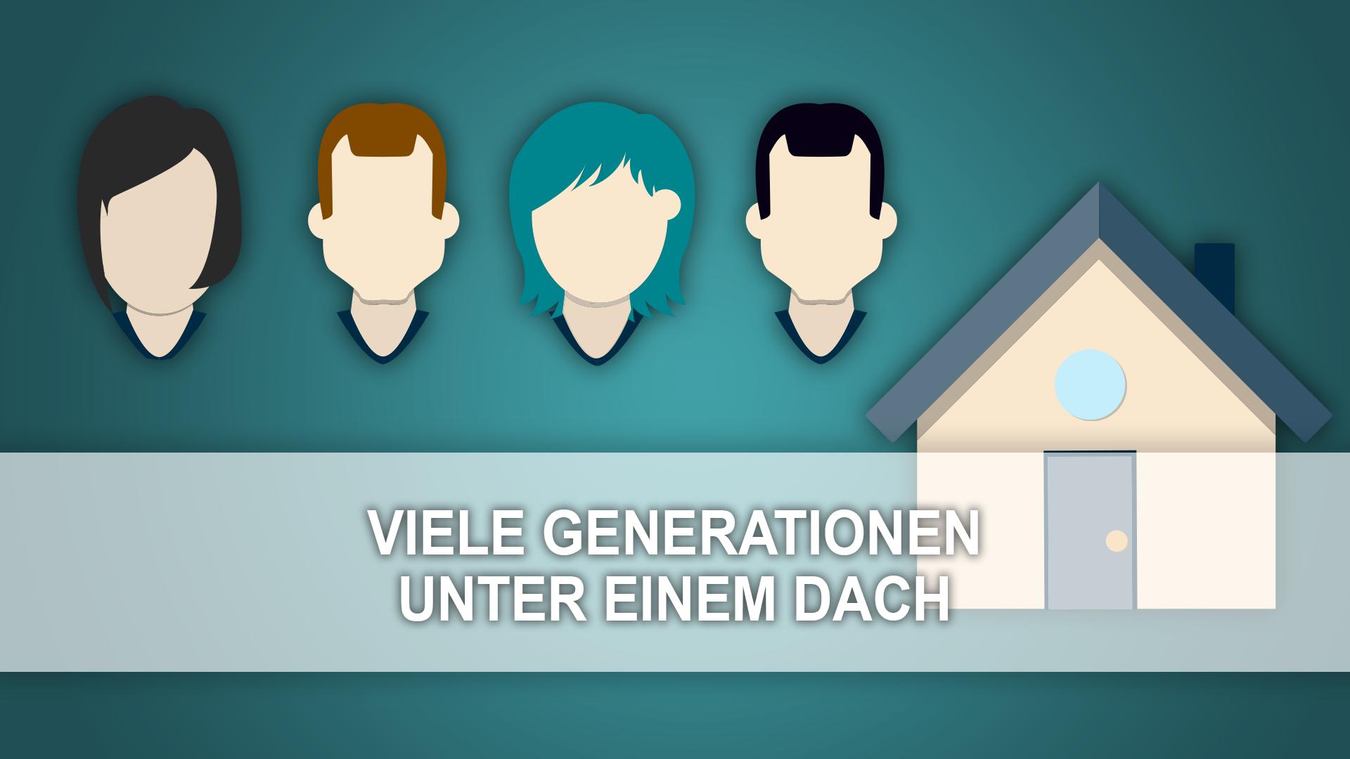 viele generationen unter einem dach - a.scheffer